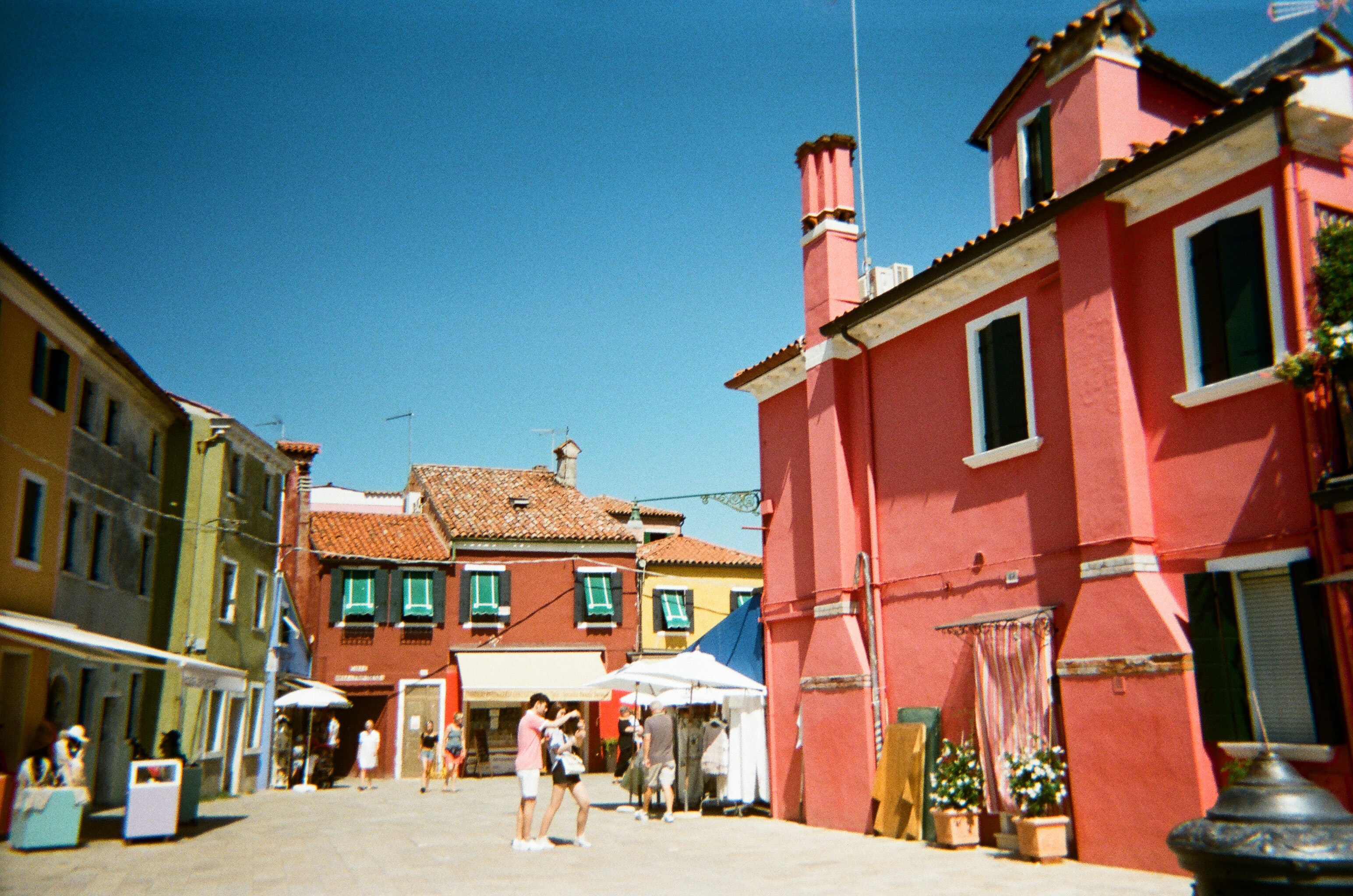 Burano, Italy on Lace & Lilacs